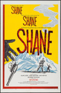 "Movie Posters:Western, Shane (Paramount, R-1959). One Sheet (27"" X 41""). Western.. ..."