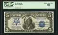 Large Size:Silver Certificates, Fr. 278 $5 1899 Silver Certificate PCGS Choice About New 58.. ...