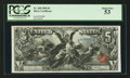 Fr. 268 $5 1896 Silver Certificate PCGS About New 53