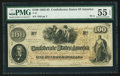 Confederate Notes:1862 Issues, T41 $100 1862 PF-3 Cr. 312.. ...