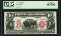 Large Size:Legal Tender Notes, Fr. 119 $10 1901 Legal Tender PCGS Gem New 66PPQ.. ...