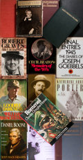 Books:Biography & Memoir, Fifteen Biographies including that of Erwin Rommel, James Joyce, Daniel Boone, et al. Various publishers and editions. P... (Total: 15 Items)