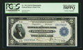 Fr. 754 $2 1918 Federal Reserve Bank Note Double Courtesy Autograph PCGS Choice About New 58PPQ