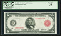 Fr. 832b $5 1914 Red Seal Federal Reserve Note PCGS Very Fine 35