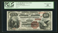 National Bank Notes:Utah, Brigham City, UT - $10 1882 Brown Back Fr. 490 The First NB Ch. # (P)6036. ...