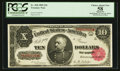 Large Size:Treasury Notes, Fr. 368 $10 1890 Treasury Note PCGS Apparent Choice About New 58.. ...