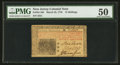 Colonial Notes:New Jersey, John Hart Signed New Jersey March 25, 1776 15s PMG AboutUncirculated 50.. ...