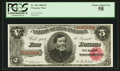 Large Size:Treasury Notes, Fr. 361 $5 1890 Treasury Note PCGS Choice About New 58.. ...