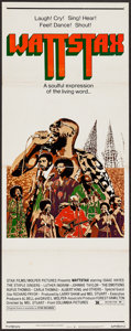 "Movie Posters:Black Films, Wattstax (Columbia, 1973). Insert (14"" X 36""). Black Films.. ..."