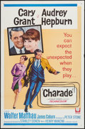 "Movie Posters:Mystery, Charade (Universal, 1963). One Sheet (27"" X 41"") & Pressbook(22 Pages, 12"" X 18""). Mystery.. ... (Total: 2 Items)"