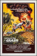 """Movie Posters:Sports, Checkered Flag or Crash (Universal, 1977). One Sheet (27"""" X 41"""") & Uncut Pressbook (8.5"""" X 11""""). Sports.. ... (Total: 2 Items)"""