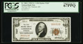 National Bank Notes:Minnesota, Chisholm, MN - $10 1929 Ty. 1 The First NB Ch. # 7647. ...