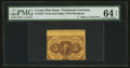 Fractional Currency:First Issue, Fr. 1228 5¢ First Issue Misperforated PMG Choice Uncirculated 64 EPQ.. ...