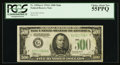 Small Size:Federal Reserve Notes, Fr. 2202-G $500 1934A Federal Reserve Note. PCGS Choice About New 55PPQ.. ...