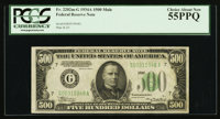 Fr. 2202-G $500 1934A Federal Reserve Note. PCGS Choice About New 55PPQ