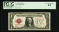 Low Serial Number Fr. 1500 $1 1928 Legal Tender Note. PCGS Very Choice New 64