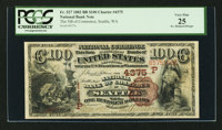 Seattle, WA - $100 1882 Brown Back Fr. 527 The NB of Commerce Ch. # (P)4375