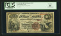 Tacoma, WA - $10 1882 Brown Back Fr. 485 The Pacific NB Ch. # (P)3417