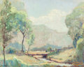 Fine Art - Painting, American:Modern  (1900 1949)  , DALE PHILIP BESSIRE (American, 1892-1974). Mid-SummerMorning. Oil on board. 16 x 19-3/4 inches (40.6 x 50.2 cm).Signed...