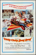 "Movie Posters:Fantasy, Chitty Chitty Bang Bang (United Artists, 1969). One Sheet (27"" X 41"")& Uncut Pressbook (8 Pages, 9"" X 12"") Style B. Fantasy.... (Total: 2 Items)"