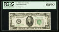 Small Size:Federal Reserve Notes, Fr. 2058-B $20 1934D Wide Federal Reserve Note. PCGS Superb Gem New 68PPQ.. ...