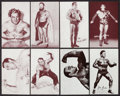 Olympic Cards:General, 1950's - '60's Exhibit Wrestlers Collection (38). ...