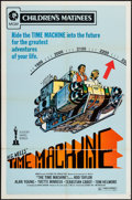 "Movie Posters:Science Fiction, The Time Machine (MGM, R-1972). One Sheet (27"" X 41"") Children'sMatinee Style & Photos (2) (8"" X 10""). Science Fiction.. ...(Total: 3 Items)"