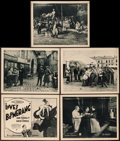 "Movie Posters:Crime, Love's Boomerang (Paramount, 1922). Title Lobby Card & LobbyCards (4) (11"" X 14""). Crime.. ... (Total: 5 Items)"