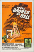 "Movie Posters:War, To the Shores of Hell (Crown International, 1966). One Sheet (27"" X41""). War.. ..."