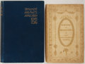 Books:Art & Architecture, Group of Two Late Nineteenth to Early Twentieth Century Books on the Decorative Arts. Various publishers and dates. Heirlo... (Total: 2 Items)