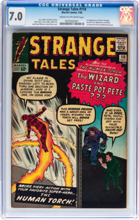 Strange Tales #110 (Marvel, 1963) CGC FN/VF 7.0 Cream to off-white pages