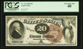 Large Size:Legal Tender Notes, Fr. 132 $20 1880 Legal Tender PCGS Extremely Fine 40.. ...