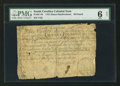 Colonial Notes:South Carolina, South Carolina 1767 (Dates Handwritten) £20 PMG Good 6 Net.. ...