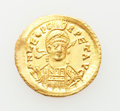 Ancients:Roman Imperial, Ancients: Leo I the Great (AD 457-474). AV solidus (4.47 gm)....