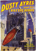 Pulps:Adventure, Aviation Pulp File Copy Group (Various, 1934-49). This group, which features air battles, contains Dusty Ayers and His Bat... (Total: 7 Items)