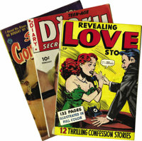 Miscellaneous Golden Age Romance Comics Group (Various Publishers, 1949-52) Condition: Average VG+. A FN/VF copy of All-...