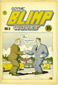 Silver Age (1956-1969):Alternative/Underground, Gothic Blimp Works #3 (East Village Other, 1969) Condition: VF-.Another wild Robert Crumb cover adorns this third issue of ...