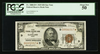 Fr. 1880-D* $50 1929 Federal Reserve Bank Note. PCGS About New 50