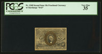 Fr. 1248 10¢ Second Issue PCGS Very Fine 35