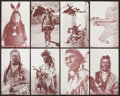 Non-Sport Cards:Sets, 1950's Exhibit American Indian Series Complete Set (32). ...