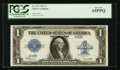 Large Size:Silver Certificates, Low Serial Number K92B Fr. 237 $1 1923 Silver Certificate PCGS Gem New 65PPQ.. ...