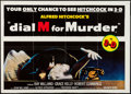 """Movie Posters:Hitchcock, Dial M for Murder (Warner Brothers, R-1982). British Quad (30"""" X40"""") 3-D Style. Hitchcock.. ..."""