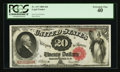 Large Size:Legal Tender Notes, Fr. 147 $20 1880 Legal Tender PCGS Extremely Fine 40.. ...