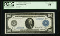 Fr. 1120 $100 1914 Federal Reserve Note PCGS Choice About New 58