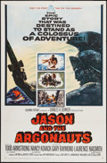 "Movie Posters:Fantasy, Jason and the Argonauts (Columbia, 1963). One Sheet (27"" X 41"").Fantasy.. ..."