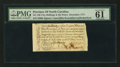 Colonial Notes:North Carolina, North Carolina December, 1771 2s 6d PMG Uncirculated 61.. ...