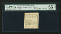 Colonial Notes:Connecticut, Connecticut October 11, 1777 3d PMG About Uncirculated 55 EPQ.. ...