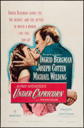 """Movie Posters:Hitchcock, Under Capricorn (Warner Brothers, 1949). One Sheet (27"""" X 41"""").Hitchcock.. ..."""