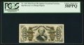 Fractional Currency:Third Issue, Fr. 1324 50¢ Third Issue Spinner PCGS Choice About New 58PPQ.. ...