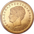 Proof Four Dollar Gold Pieces, 1879 $4 Coiled Hair, Judd-1638, Pollock-1838, R.6, PR66 Cameo PCGSSecure....